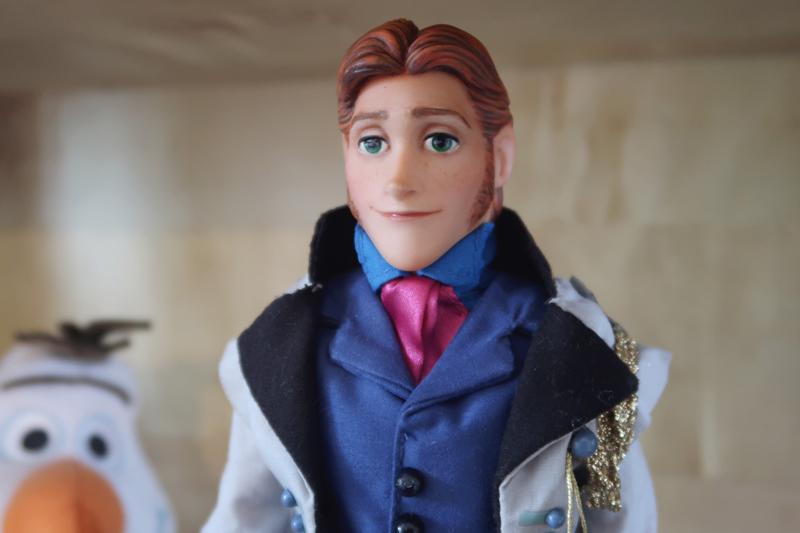 Disney Frozen doll customization face ups - Hans
