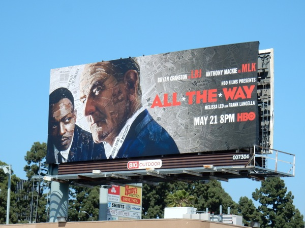 All The Way HBO film billboard