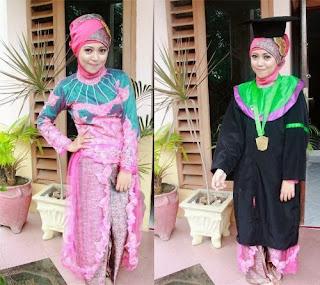 Baju Kebaya Wisuda Muslim