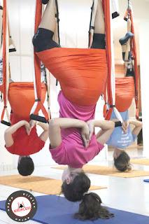 aeroyoga, aeropilates, air yoga, air pilates, columpio, hamaca, swing, trapeze, webinar, seminarios, online, educacion a distancia