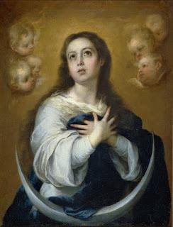 Inmaculada Concepción - Murillo - Óleo sobre lienzo 1662 91x70 cm Museo del Prado - MADRID