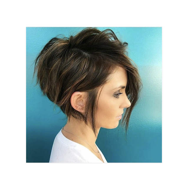 pixie haircuts on round faces