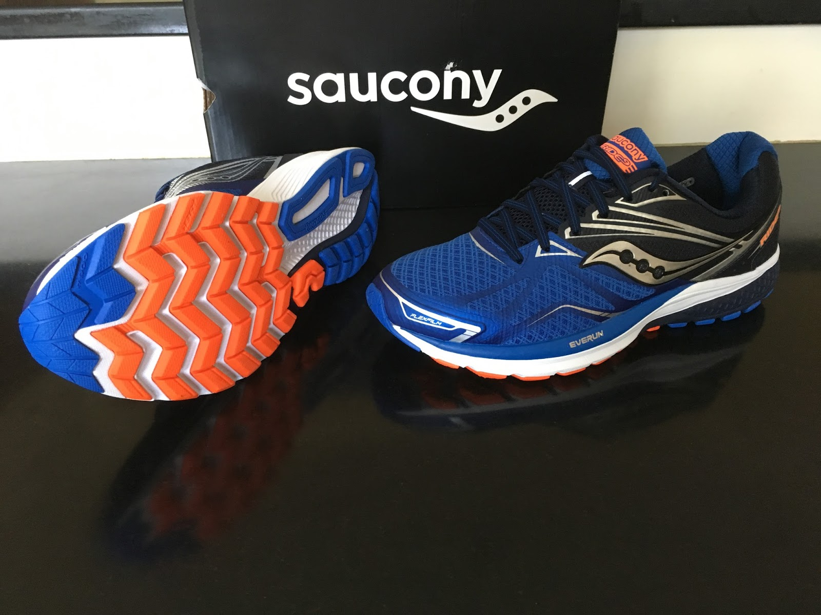 Saucony Ride 5 Vs Triumph 10