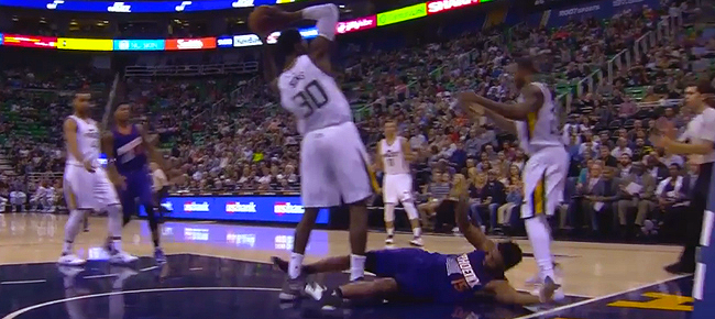 Henry Sims EJECTED For Flagrant 2 Foul On Alan Williams (VIDEO)