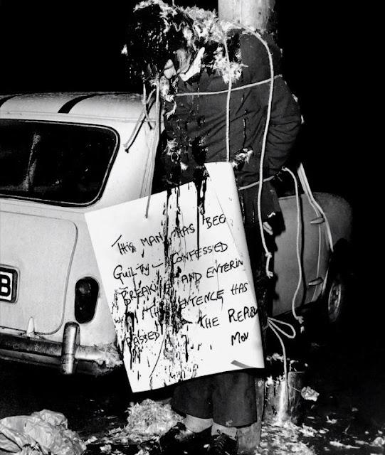 IRA punishment beating, Falls Road, Belfast, 1971