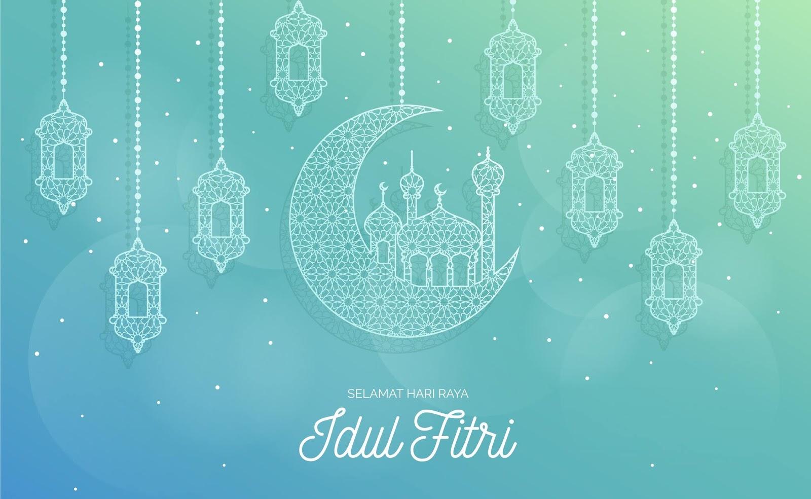 Wallpaper Ucapan Idul Fitri 1440 H - Contoh Fam
