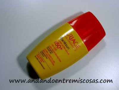 Fluido ultraligero SPF50+ para pieles sensibles de Uriage