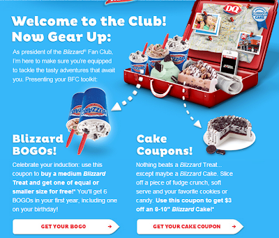 photo relating to Printable Dairy Queen Coupons called Dairy Queen - BOGO Medium Blizzard Totally free + $3 off a