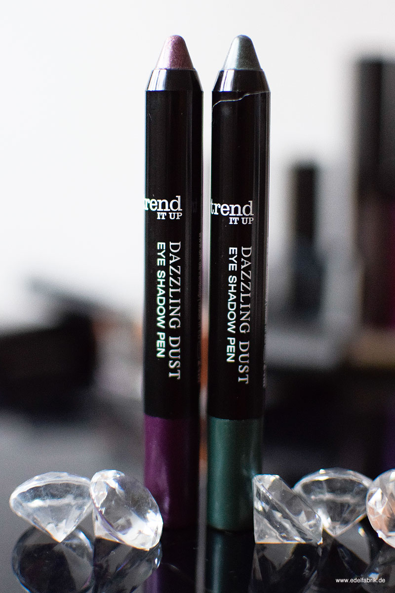 trend IT UP Dazzling Dust Limited Edition, Eye Shadow Pens, Review