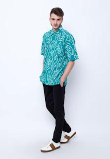 Kemeja Batik Cowok
