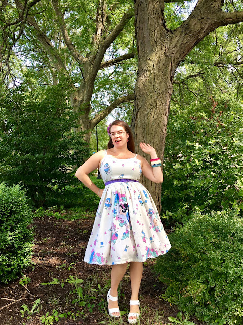 Vintage Inspired by Jackie Snow White dress