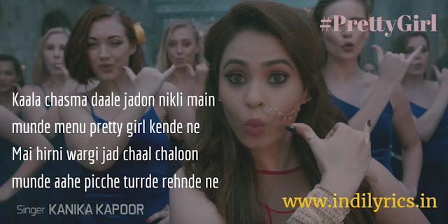 Munde Maine Pretty Girl Kende Ne | Kanika Kapoor ft. Ikka | Malobika | full Audio mp3 song lyrics with English Translation and real Meaning