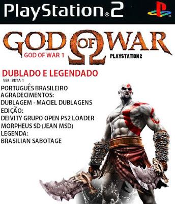 Download god of war 1 ps2 legendado portugues