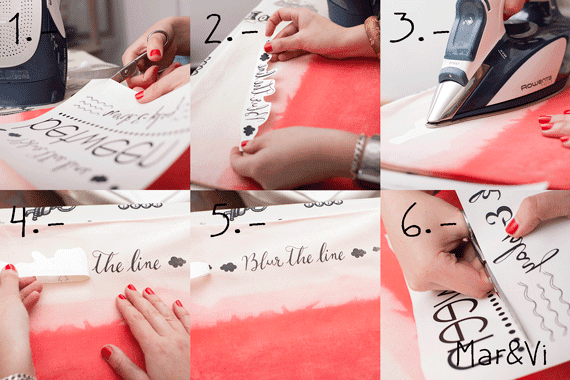 Cuscino stile ombre tutorial in italiano