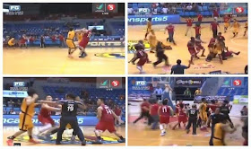 Mapua vs EAC brawl in NCAA game