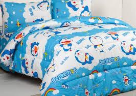 sprei Doraemon Rainbow murah di jakarta