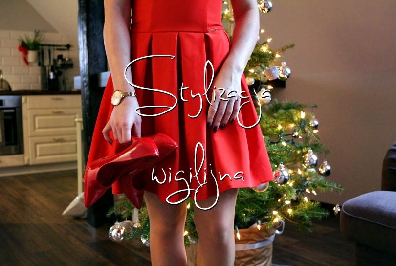 stylizacja wigilijna, sukienka elegancka, quarelle, 2017, 2016, stylizacja na sylwestra, choinka, lorus, salon, wnętrza, lifestyle,