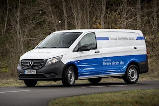 Mercedes-Benz eVito Panel Van (2018) Front Side
