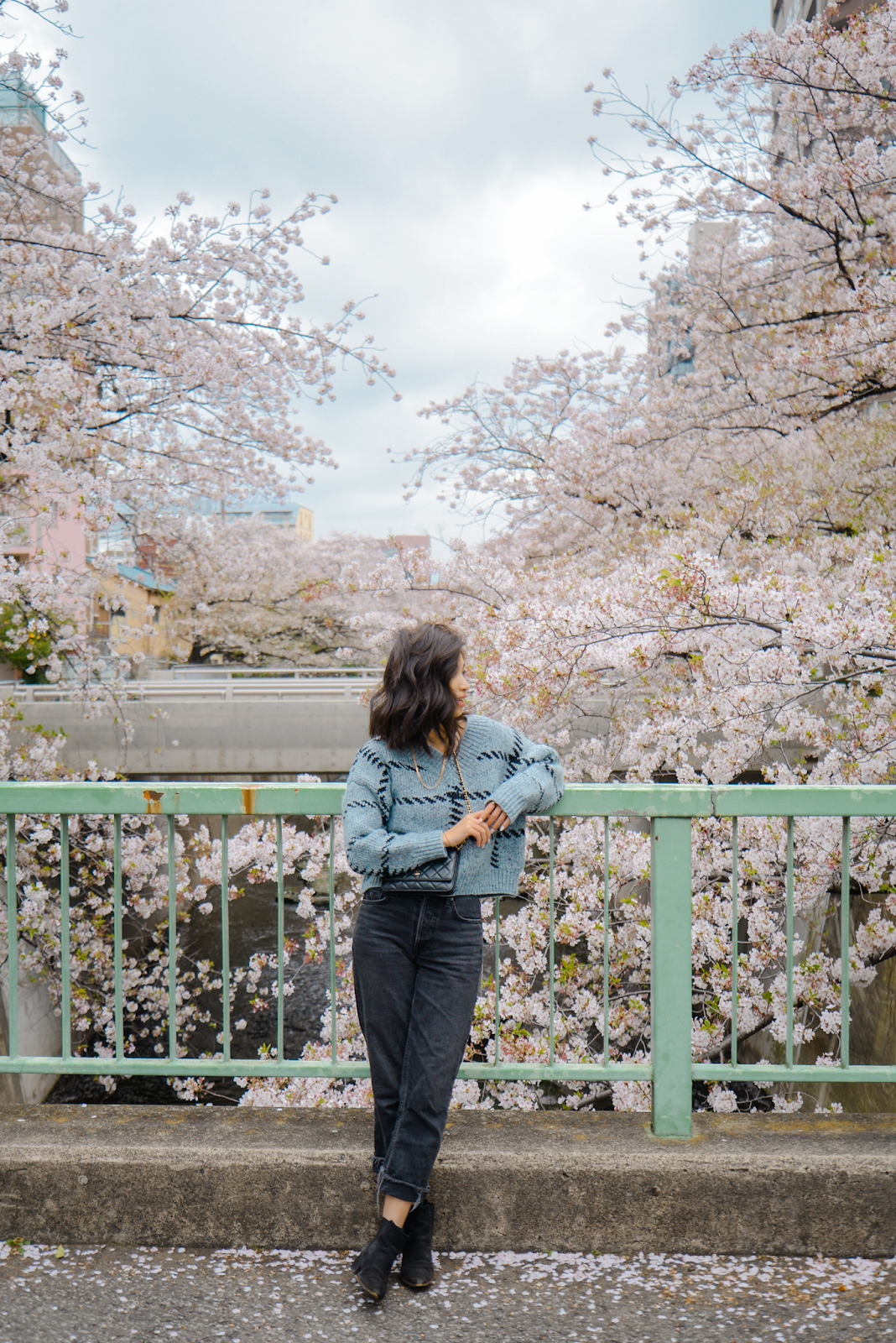 Local spot for cherry blossom photos, Tokyo's Not So Secret Cherry Blossoms Spots That You Might Not Know Of - Style and Travel Blogger Van Le (FOREVERVANNY.com)