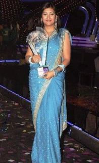 Foto Juhi Parmar sebagai Pemenang di Bigg Boss Season 5