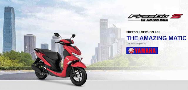 Menilik Fitur ABS Dari Yamaha FREEGO S VERSION ABS