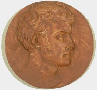 David d'Angers (1788-1856) - Hyacinthe de Latouche - 1831 - Plâtre - Vie Romantique.