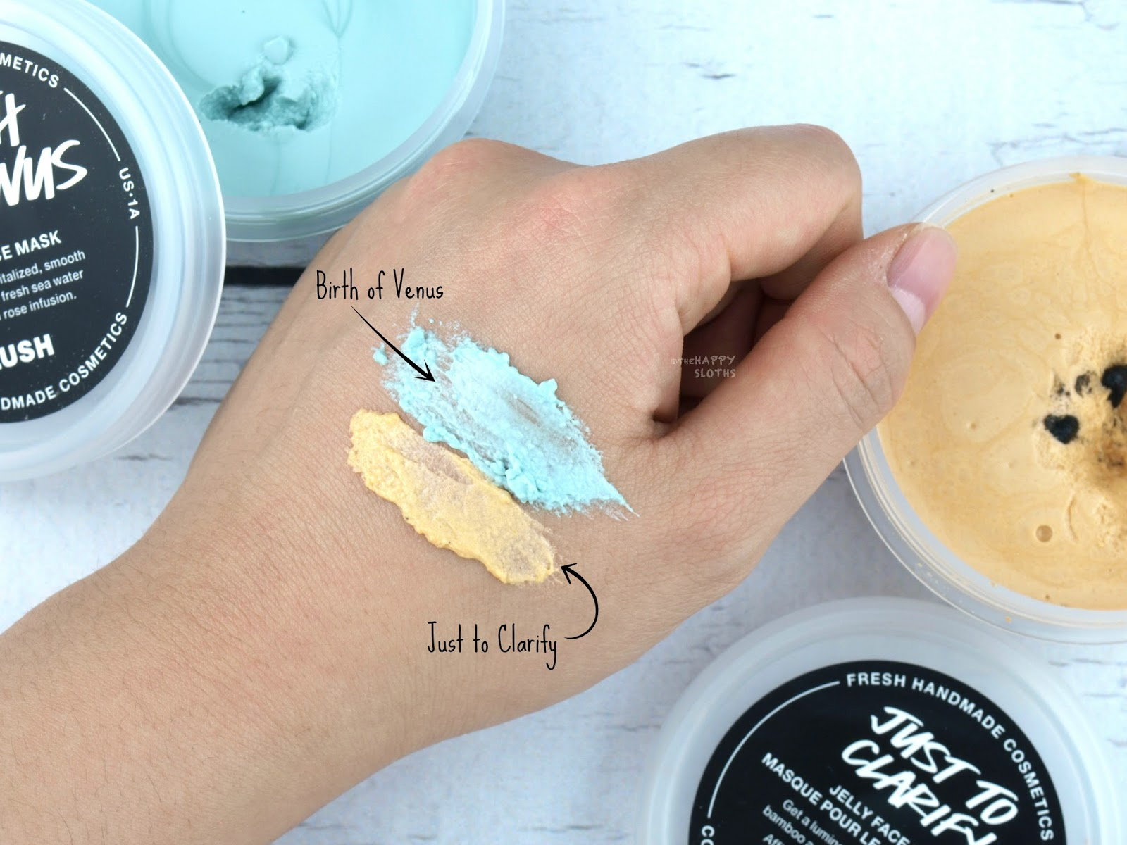 Lush Jelly Face Mask Review | Just to Clarify & Birth of Venus