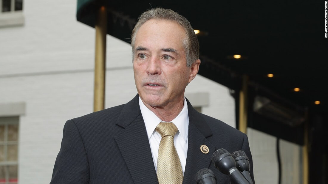 New York Rep. Chris Collins Indicted On Insider Trading Charges