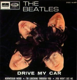 "The Beatles ""Drive My Car"" image"