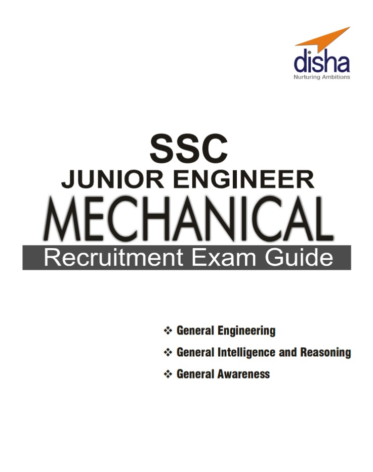 DOWNLOAD SSC JE MECHANICAL [DISHA PUBLICATION] BOOK PDF