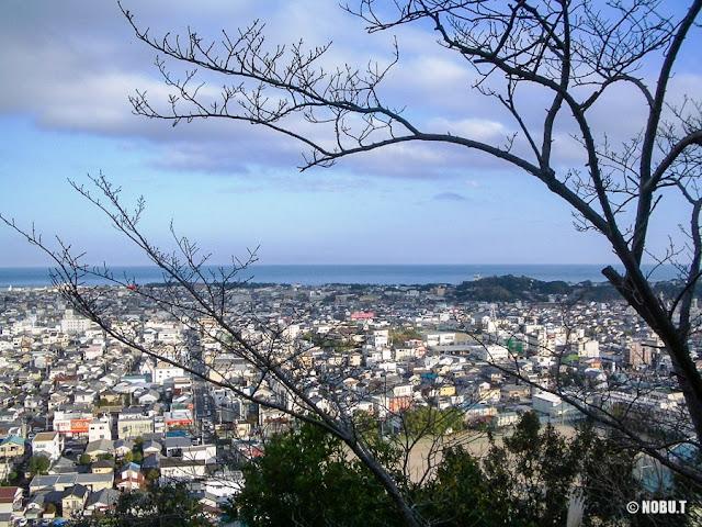 和歌山県新宮市「神倉神社」からの景色