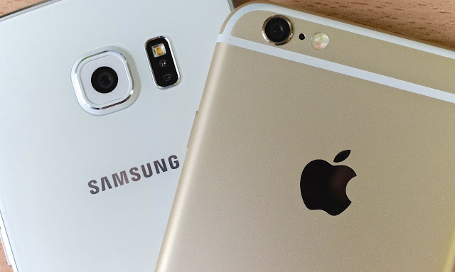 Samsung S7 and iPhone