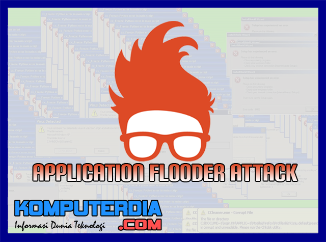Cara Membuat Virus Application Flooder Dengan File Batch