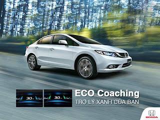 Giới thiệu hệ thống ECO Coaching của Honda