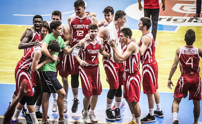 FIBA U16 Europe Türkiye - Yunanistan maç sonu