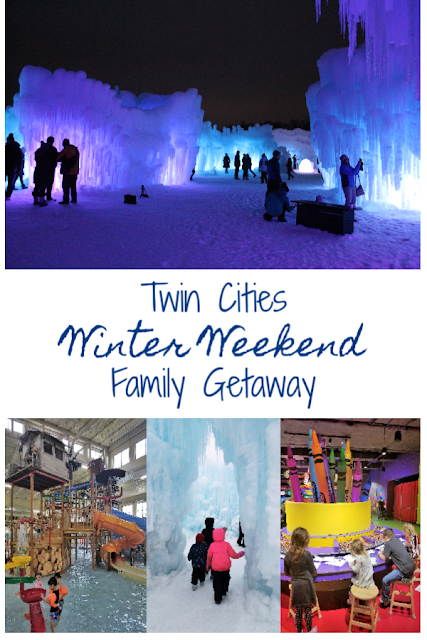 Twin Cities Family Winter Weekend Getaway - Mall of America, Great Wolf Lodge and Ice Castles Tips