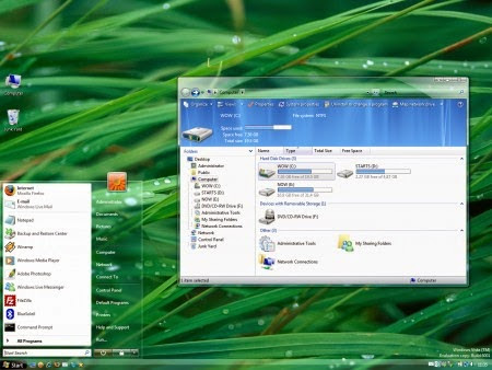 AeroVG Theme For Vista