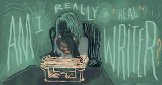 sang penulis yang kehilangan inspirasi