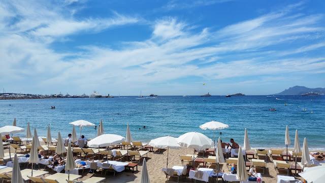 Cannes il mare in Costa Azzurra