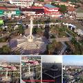 Pemandangan Dari Atas Menara Masjid Agung Karawang