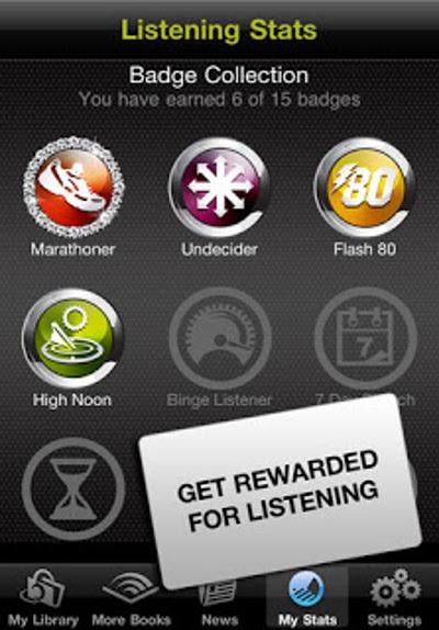 speaking of audible badge