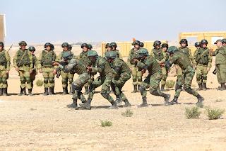 """ختام فعاليات التدريب المشترك لقوات المظلات المصرية والروسية """"حماة الصداقة 2016"""""""