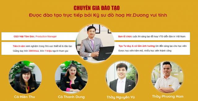 Giảng viên khóa học thiết kế đồ họa tại Thanh Trì