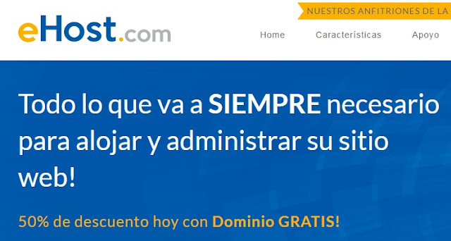 Ehost hosting web