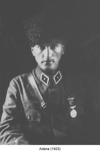 Atatürk Adana 1923 Fotoğraf