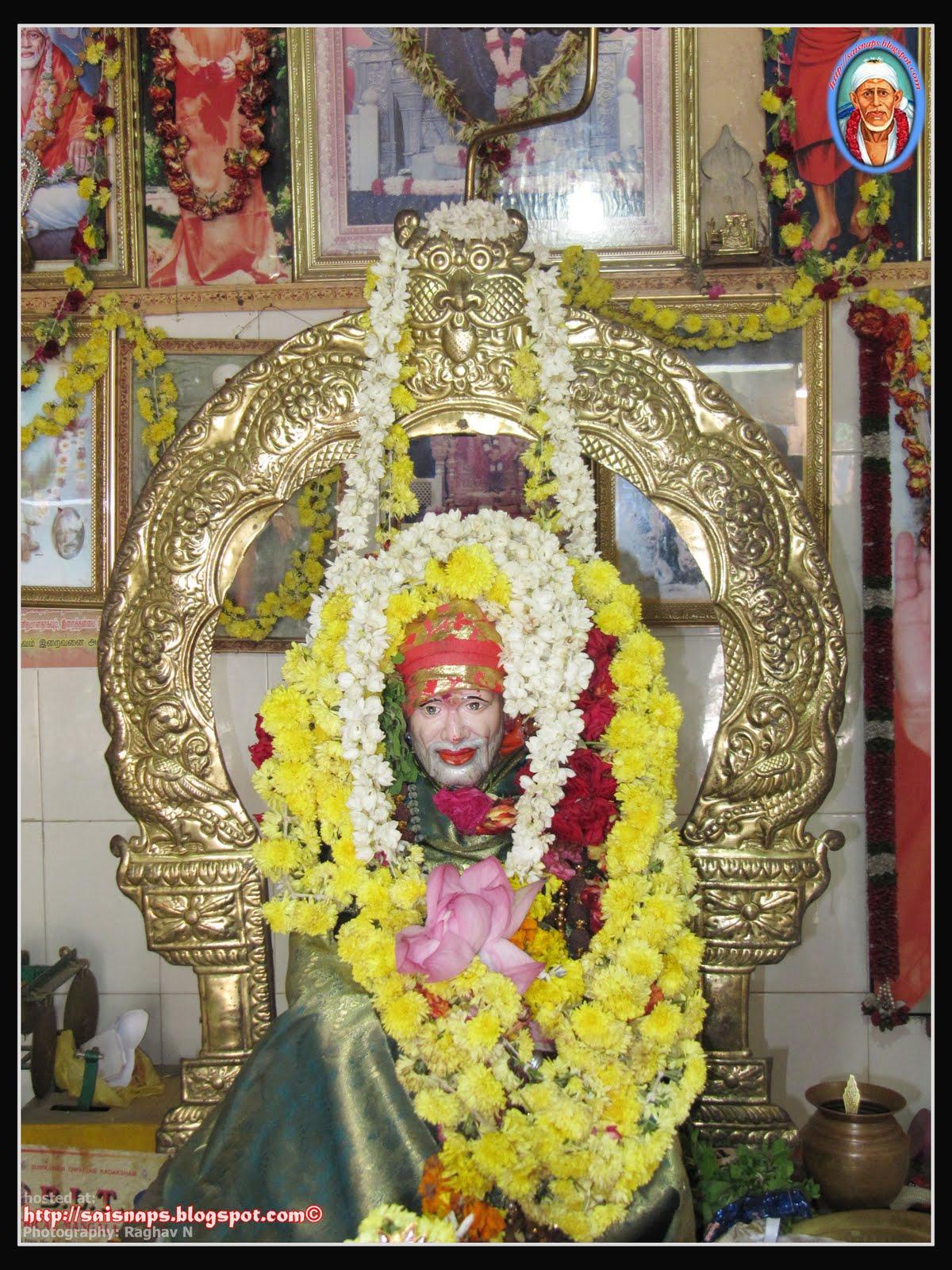 Sai Wallpaper: Sri Shirdi Sai Baba Temple, South Sivan