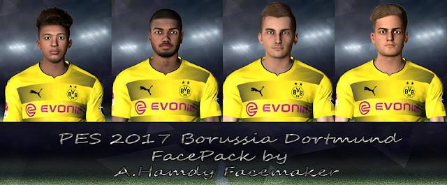 PES 2017 Borussia Dortmund Facepack