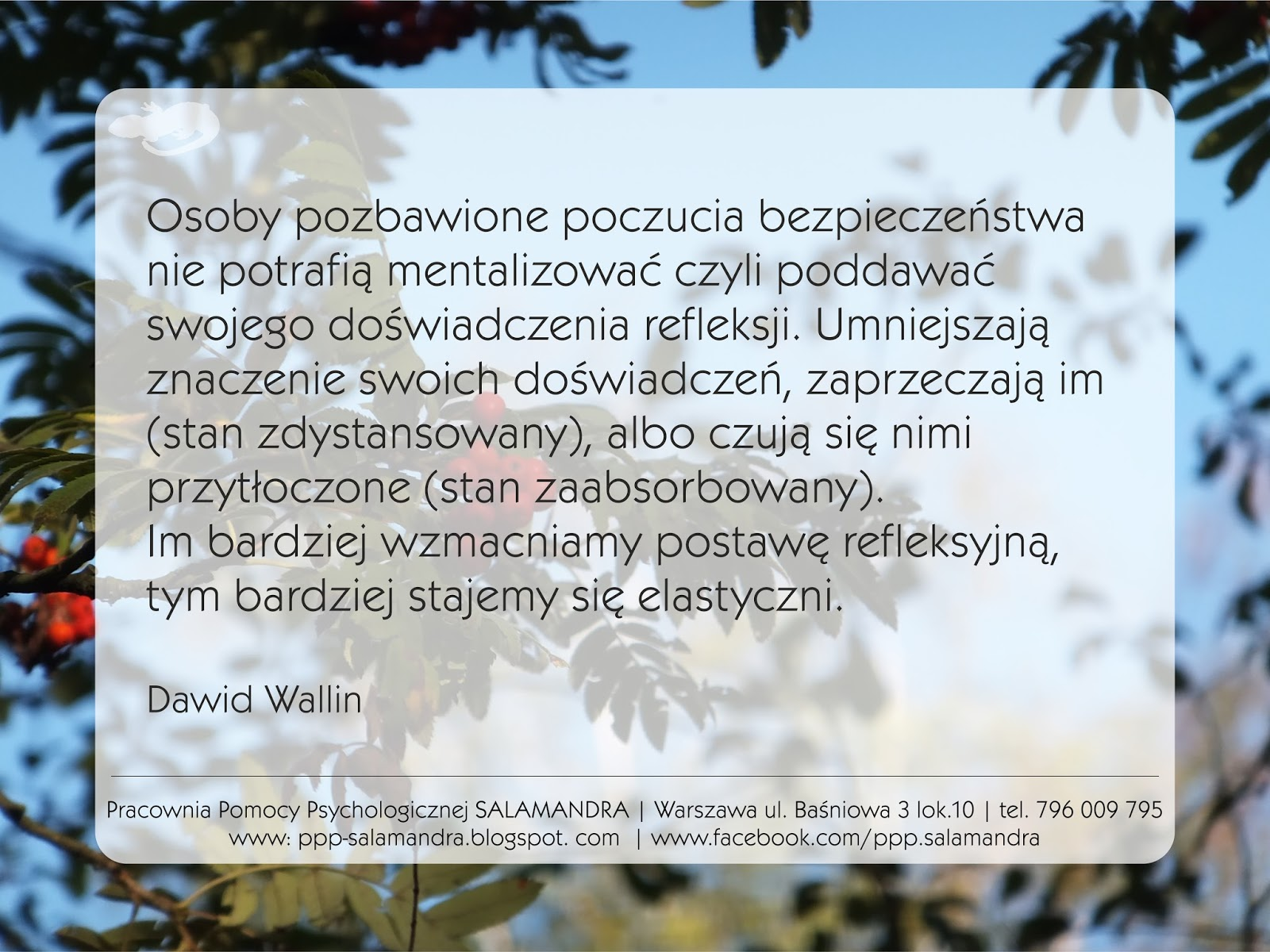 Dobry psycholog Warszawa o korzyściach z postawy refleksyjnej