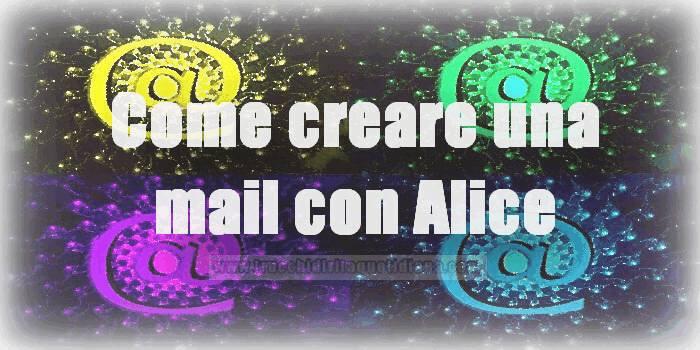 alice mail posta elettronica gratis