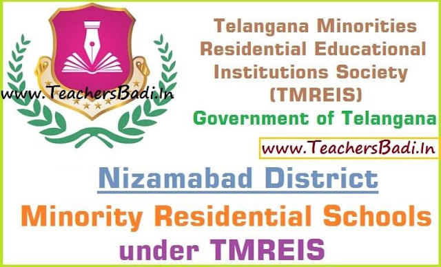 Nizamabad District,Minority Residential Schools,TMREIS